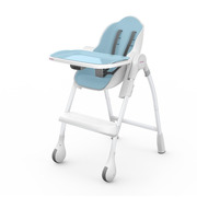 Oribel, Krzesełko do karmienia BŁEKITNY Cocoon