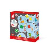 Janod, Puzzle Uczę się alfabetu wersja angielska
