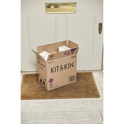 Kit and Kin, Biodegradowalne Pieluszki Jednorazowe Maxi (7-11kg), Mix Wzorów, 34 szt.
