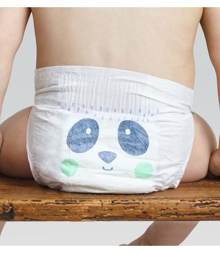 Kit and Kin, Biodegradowalne Pieluszki Jednorazowe Panda Maxi Plus (9-15kg), Mix Wzorów, 34 szt.