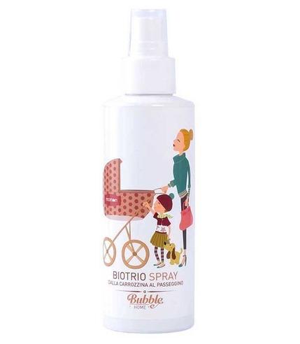 Bubble&CO, Naturalny Spray Dezynfekujący, Relaksujący i Odstraszający Komary dla Dzieci 100 ml