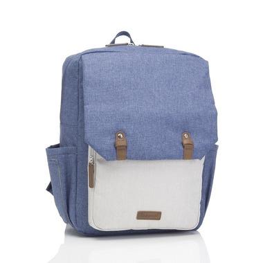 Babymel, Plecak dla Taty George Blue/Oatmea
