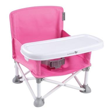 Summer Infant, Krzesełko Podróżne Pop N Sit Pink
