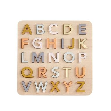 Kids Concept, NEO Puzzle Drewniane Alfabet