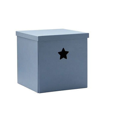 Kids Concept, Star Pudełko Kartonowe Blue