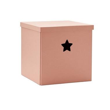 Kids Concept, Star Pudełko Kartonowe Pink