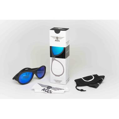 Babiators, Okulary przeciwsłoneczne dla dzieci Aces Navigator Black Ops Black / Blue LensesBlue