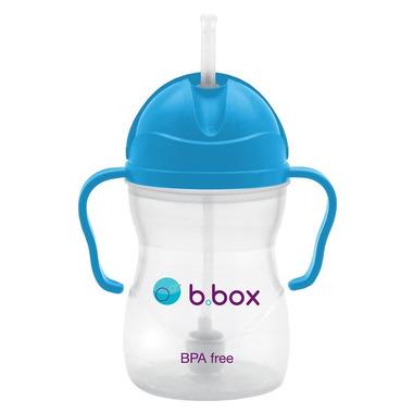 B.Box, Innowacyjny kubek niekapek z rurką niebieski