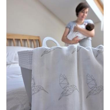 Mama Designs, Otulacz Muślinowy 2szt Hummingbird