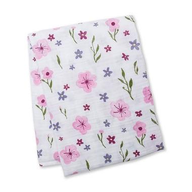 Lulujo, Kocyk Muślinowy Lovely Floral