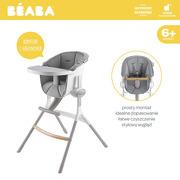 Beaba, Miękki wkład do Krzesełka do karmienia Up&Down grey