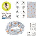 Lassig, Opaska wielofunkcyjna Twister Coolmax Small Stripes UV 40+