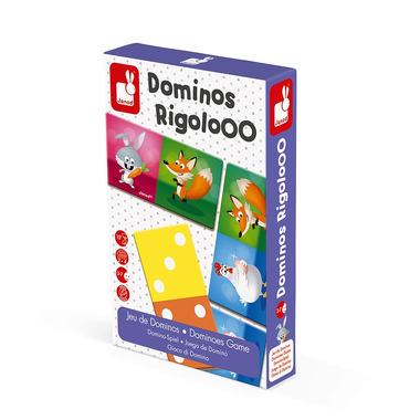 Janod, Domino Zwierzęta Rigolooo