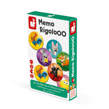 Janod, Gra memory Zwierzęta Rigolooo