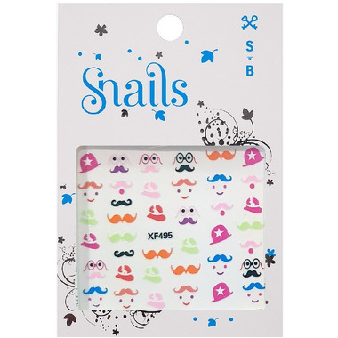 Snails, Naklejki na paznokcie Mrs. Potato Head
