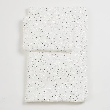 Bimbla, Komplet pościeli z wypełnieniem Dots 75 x 95 cm / 30 x 40 cm