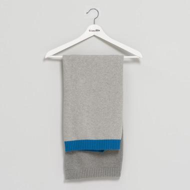 Bimbla, Kocyk So Gray Chabrowy 75 x 90 cm