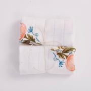 Bimbla, Zestaw 2 pieluszek bambusowych Floral