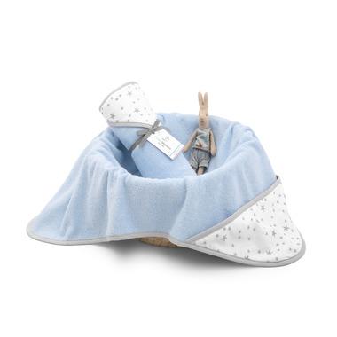 COLORSTORIES, Ręcznik bawełniany z kapturem Niebieski MilkyWay M