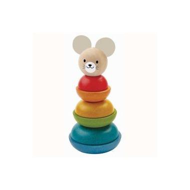 Plan Toys, Myszka - wieża do układania