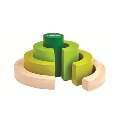 Plan Toys, Wieża - nauka ułamków