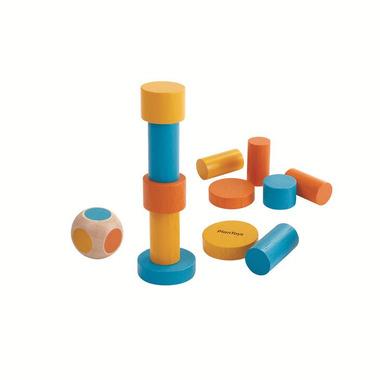 Plan Toys, Mini Gra w Metalowym pudełku - Balansująca wieża