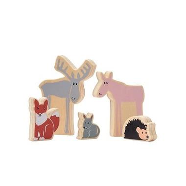 Kids Concept, Edvin Drewniane Zwierzęta
