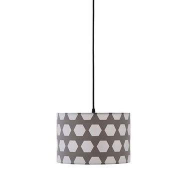Kids Concept, Lampa Wisząca Hexagon Grey