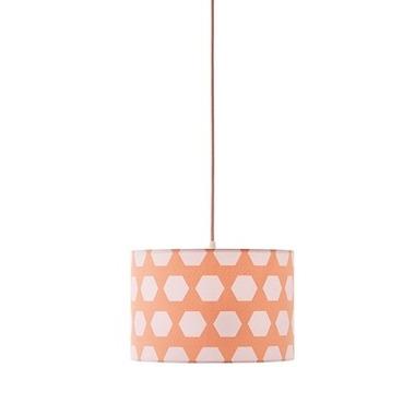 Kids Concept, Lampa Wisząca Hexagon Apricot