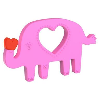 Manhattan Toy, Silikonowy gryzak Szczęśliwy Słonik