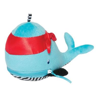 Manhattan Toy, Niebieski wieloryb z gryzakami