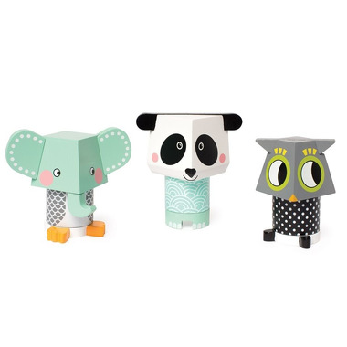 Manhattan Toy, Układanka magnetyczna Zwierzęta