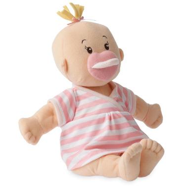 Manhattan Toy, Lalka ze smoczkiem, bobas w sukience w paski