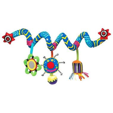 Manhattan Toy, Pluszowa spirala edukacyjna na łóżeczko, Whoozit