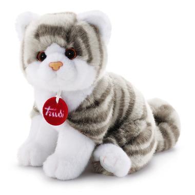 Trudi, Pluszak szaro-biały kot, 24 cm