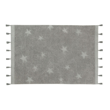 Lorena Canals, dywan do prania HIPPY STARS GREY