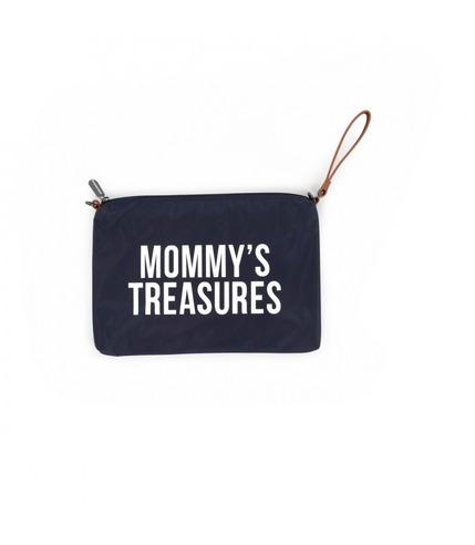 Childhome, torebka saszetka MOMMY'S TREASURES granatowa