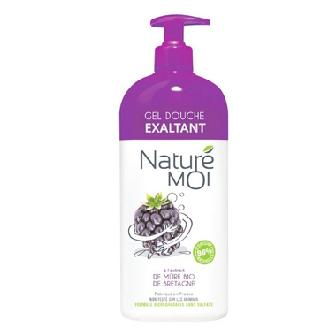 Nature Moi, Odświeżający Żel pod Prysznic Pobudzająca JEŻYNA, 750ml