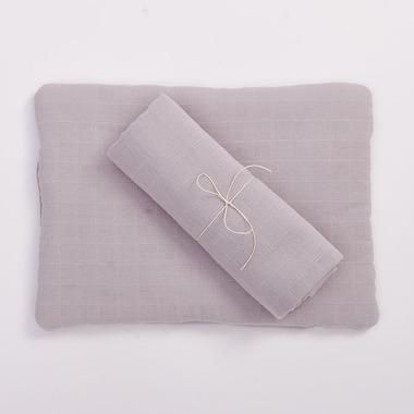 Bimbla, Poduszka z bawełny organicznej szara