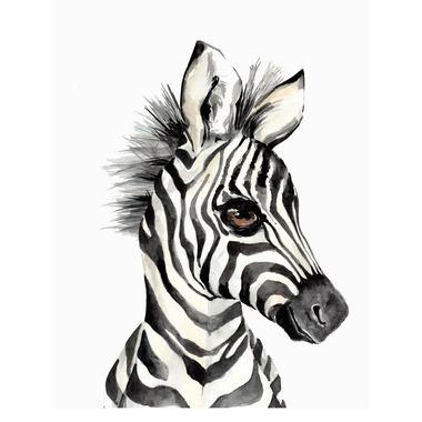 Bimbla, Obrazek Zebra 21 x 30 cm (A4)