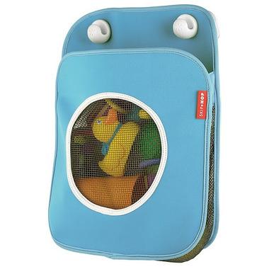 Skip Hop, organizer na zabawki kąpielowe niebieski