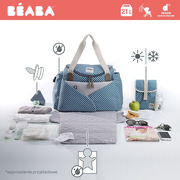 Beaba, Torba dla mamy Sydney PLAY PRINT blue
