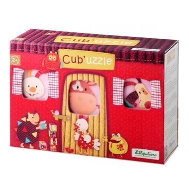 Lilliputiens, puzzle Kostki w pudełeczku