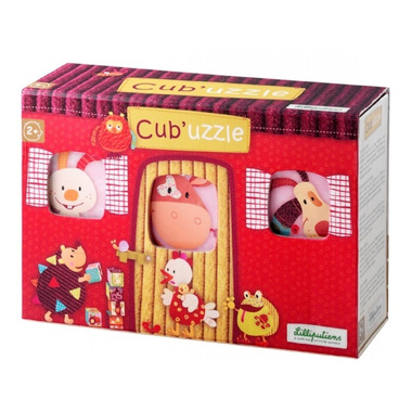 Puzzle Kostki w pudełeczku