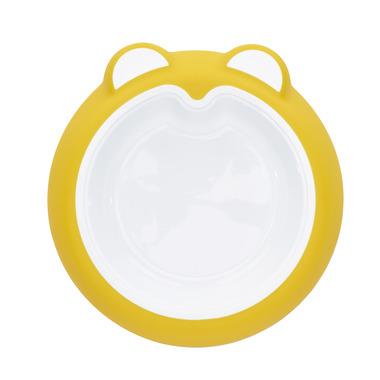 Badabulle, talerzyk z przyssawką żółty