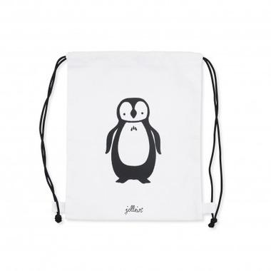 Jollein, Plecak 30x35 cm canvas Pingwin