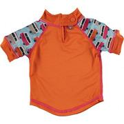 Close, Koszulka do pływania UPF50+, BLUE/ORANGE Campervan S (6-12 miesięcy)
