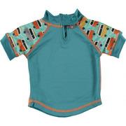 Close, Koszulka do pływania UPF50+, GREEN/GREEN Campervan
