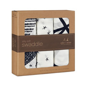 midnight 3-pack silky soft swaddles
