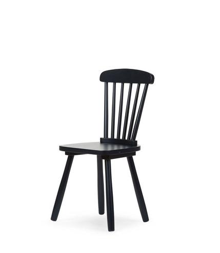 CHILDHOME, ATLAS krzesło dziecięce czarne